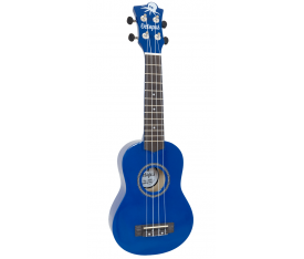Octopus UK-200DB Metalik Mavi Soprano Ukulele